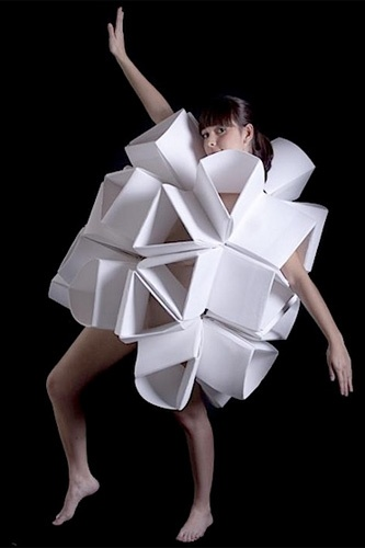 Posada's Origami Paper Garments Are The Most Hazardous Clothes, Ever