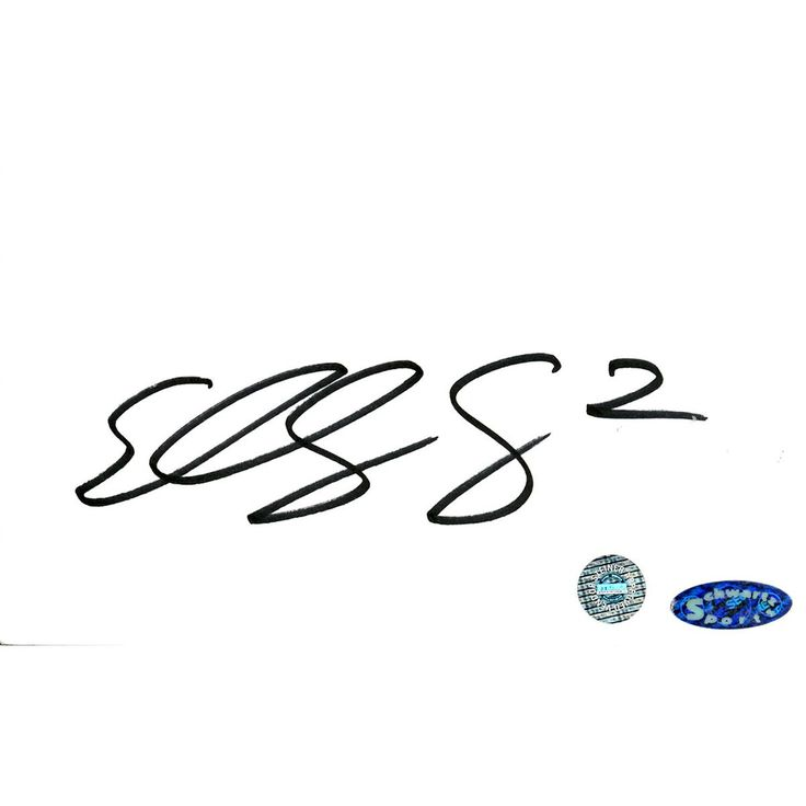 Eddy Curry Signed 3x5 Index Card (SCHWARTZ SPORTS) - This item is hand signed by Eddy Curry and includes Schwartz Sports Authentication. Gifts > Collectibles > Nba Memorabilia. Weight: 1.00