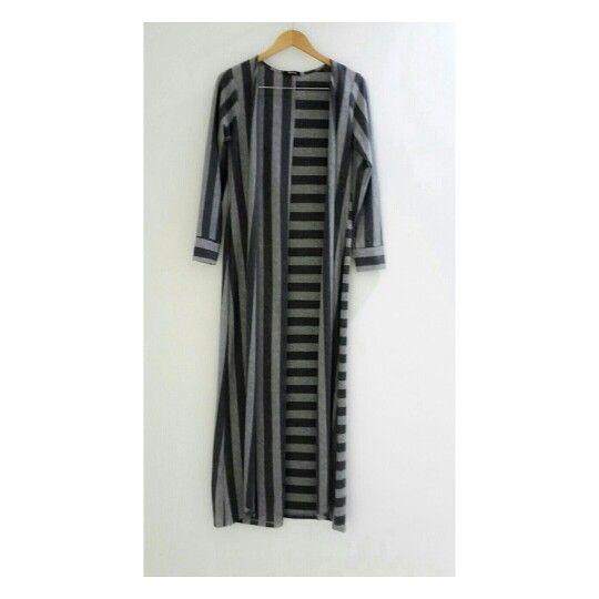 Long Striped cardi will comfort you day #identity #longcardi #striped #classic #dailylooks
