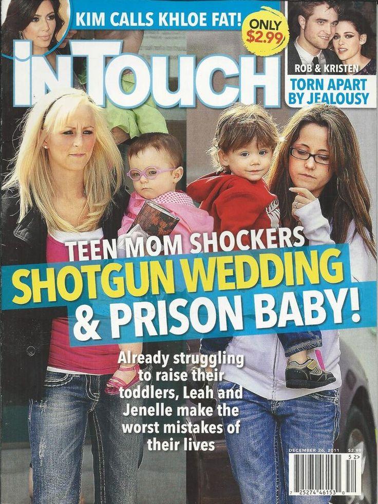 In Touch magazine Teen Mom Kim Kardashian Robert Pattinson Kristen Stewart