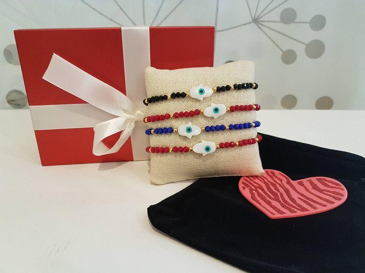 Quiero compartir lo último que he añadido a mi tienda de #etsy: Hamsa Bracelet, Evil Eyes Bracelets,Cord Bracelet,Evil Eye Bracelet,Adjustable Bracelet/ Evil Eye Jewelry,Hamsa/ Hand of Fátima Bracelet http://etsy.me/2nQBp2q #joyeria #brazalete #cumpleanos #amoryamistad