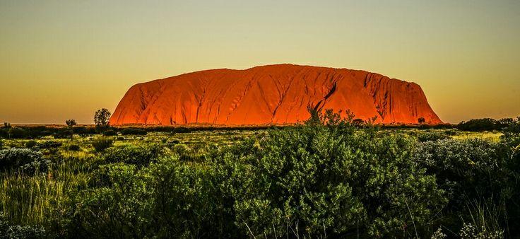 #Ularu at Sunset #australia #NT