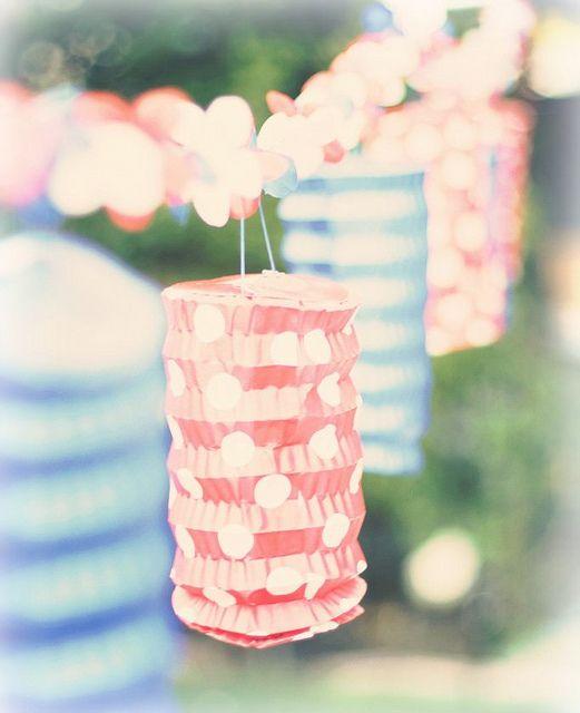 paper lanterns!