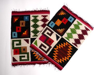 Wool placemats peruvian traditional-placemats