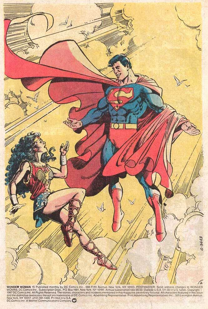 George Perez Wonder Woman Poster 1000+ ideas about Supe...