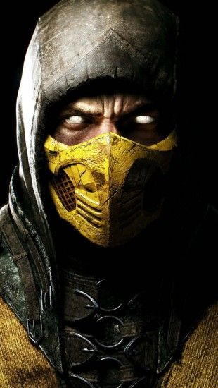 Scorpion in Mortal Kombat X http://theiphonewalls.com/scorpion-in-mortal-kombat-x/