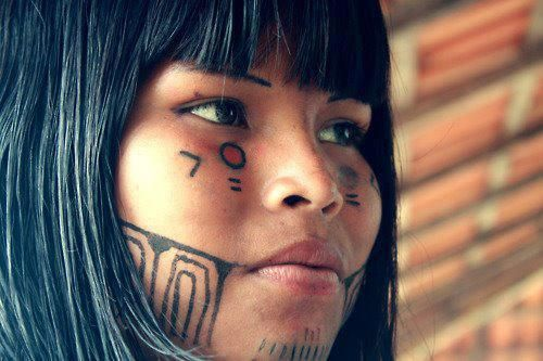 Indio da Amazonia: America Indian, Indian Tribes, Indian Native, American Indian, Indio Brasileiro, Tribal Beautiful, Paintings Faces, Beautiful People, Beautiful Image
