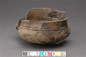 Viking age ceramic bowl, Ekerö, Uppland. Vendel-Viking