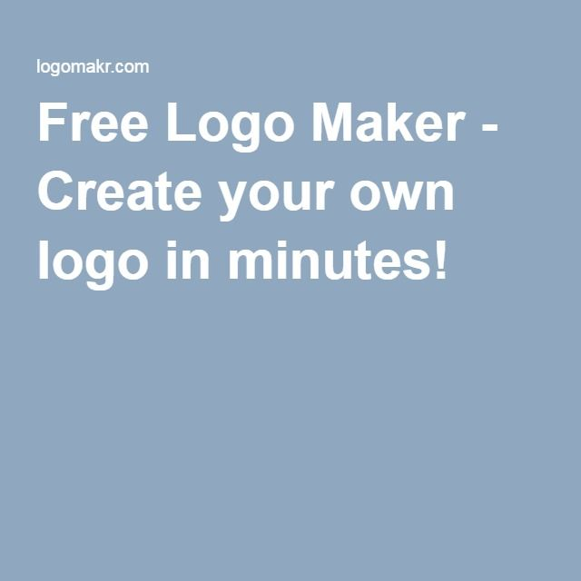 Free Logo Maker Create Your Own Logo In Minutes