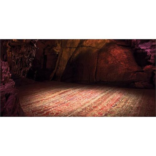 """The Genesis of Design is a collaboration between ABC Carpet & Home (@abccarpetandhome) and photographer Jason Madara (@jasonmadarastudio). Madara traveled to Schoharie County #NewYork to visit #HoweCaverns where he photographed the exclusive Alchemy rug collection. We lit all the rocks nothing was ambient exposure the photographer explains. """"The beauty of that is then I can match the tones of the rugs andcomplementthe color of the rocks. In his photographs the pastrepresented by the ancient…"""
