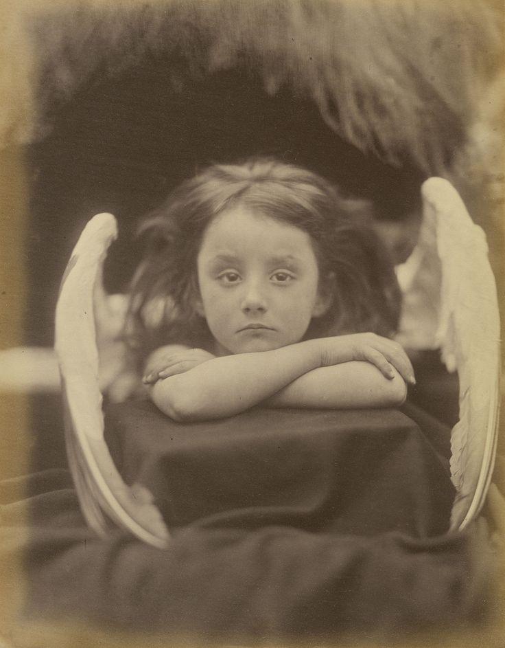 "Julia Margaret Cameron photo titled ""I Wait."" Model is Rachel Gurney"