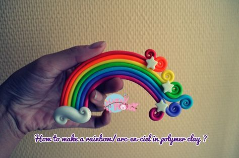 Such a beautiful way to make a rainbow! Keep this in mind for River's cakes!