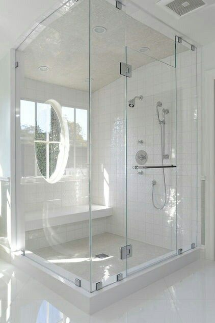 Website Photo Gallery Examples Best Window in shower ideas on Pinterest Shower window Small bathroom with window and Small tiled shower stall