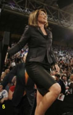 sarah palin hot pants