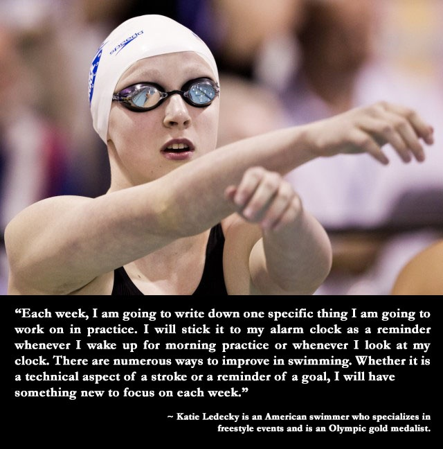 #Swimming legend Katie Ledecky, Olympic gold medalist