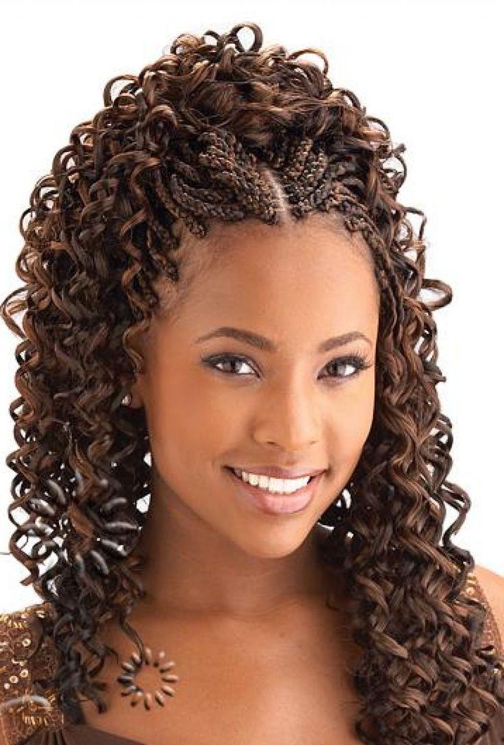 micro braids hairstyles  Google Search  Cute  Pinterest  Micro braids hairstyles Braided