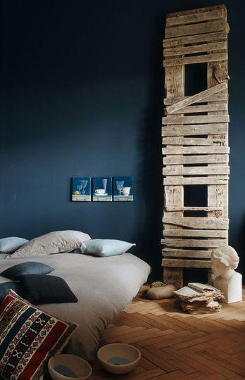 nice blue bedroom (Frank Lefevbre - bleu nature)