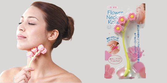 Flower Neck Roller Massager