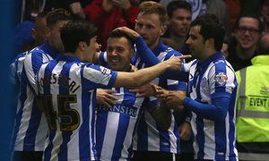 Sheffield Wednesday take control against injury-hit Brighton in play-off