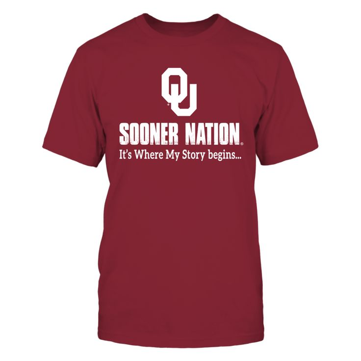Sooner Nation T-Shirt, Oklahoma Sooners Official Apparel - Wear Your Pride!  The Oklahoma Sooners Collection, OFFICIAL MERCHANDISE  Available Products:          Gildan Unisex T-Shirt - $25.95 Gildan Long-Sleeve T-Shirt - $33.95 Gildan Fleece Crew - $39.95 Gildan Unisex Pullover Hoodie - $49.95       . Buy now => https://www.fanprint.com/soona?ref=2502