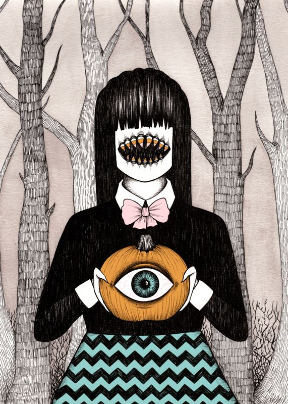 monster's seeing eye pumpkin ∞