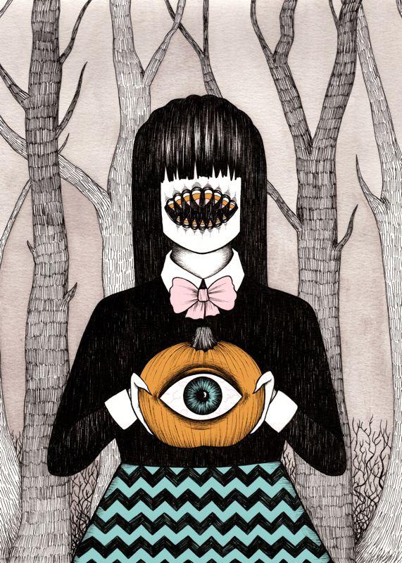 monster's seeing eye pumpkin ∞