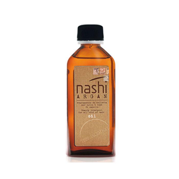 NASHI ARGAN OIL 100 ml. Prezioso elisir di bellezza che ripara, nutre e illumina i capelli in un solo gesto.