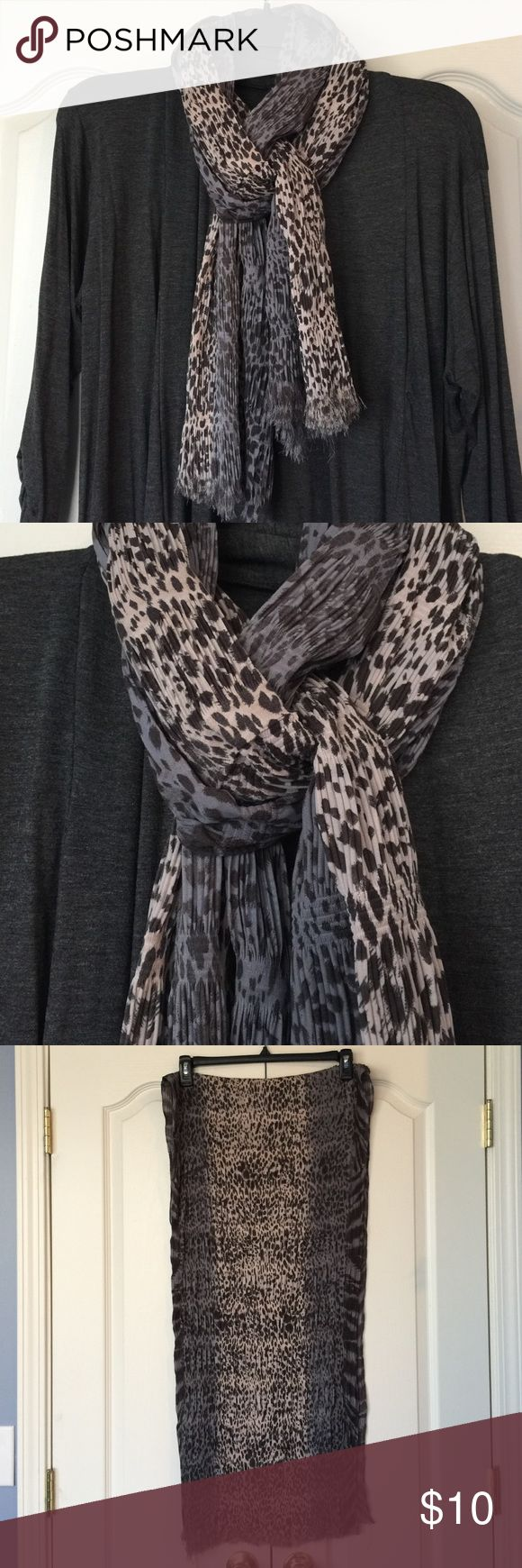 Muted spotted scarf Muted spotted scarf. Fabric content and laundry care shown in picture 4. Collectioneighteen Accessories Scarves & Wraps
