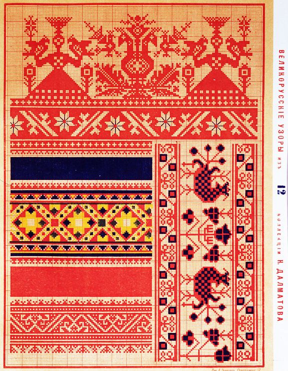 Lots of Russian patterns
