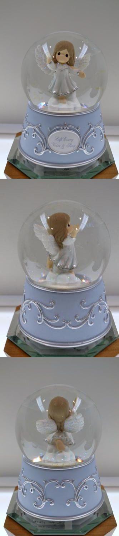 Cherished Teddies Christmas: Precious Moments Angel Hark, The Herald Musical Snowglobe 151106 Nib Freeusaship BUY IT NOW ONLY: $69.5