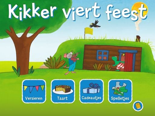 Lestips bij de app: Kikker viert feest- Kleuterdigitaal.nl