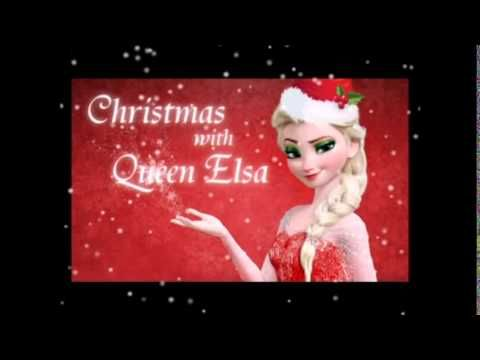 "Christmas with Queen Elsa - ""Let It Snow"" Idina Menzel / Frozen - YouTube"