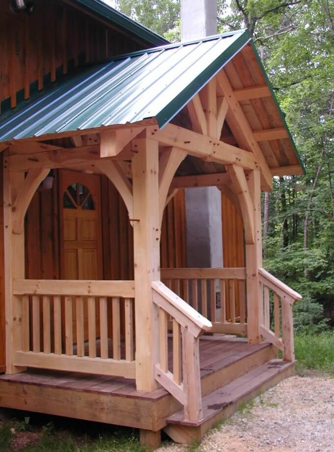 42 Best Timber Frame Porches Images On Pinterest Timber