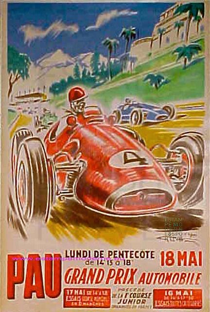 Geo Ham Grand Prix De Pau 1956