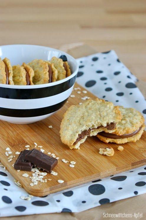 Finnische Haferkekse / Oat-Cookies