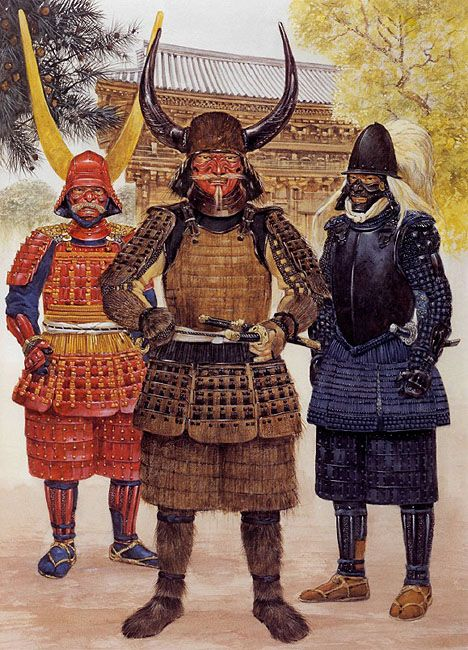 Tokugawa Ieyasu and his loyal retainers c. 1600