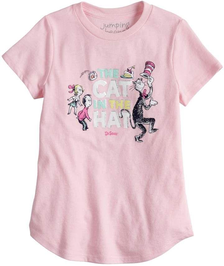 a81c02568d6 Girls 4-6x Jumping Beans Dr. Seuss