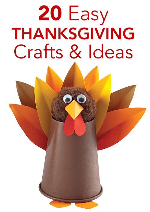 20 Easy Thanksgiving Crafts & Ideas | Parenting.com