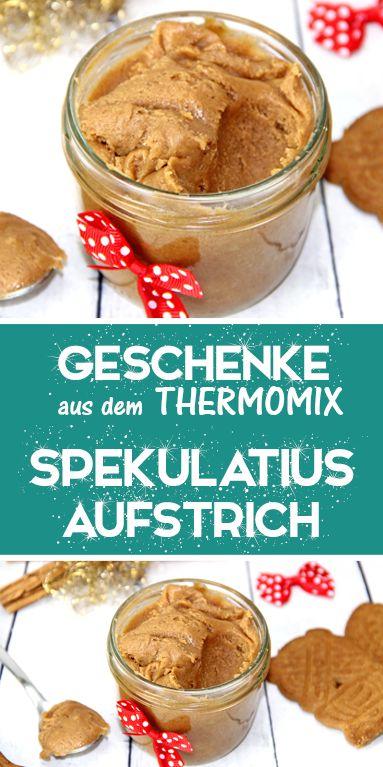Spekulatius Creme Aufstrich. Eine tolle Geschenkidee aus dem Thermomix.