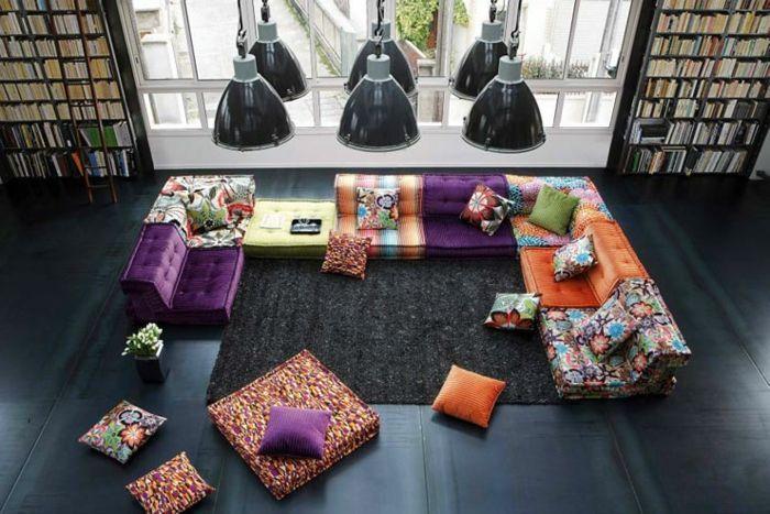 1001 Einrichtungs Und Gestaltungsideen Fur Orientalische Sitzecke Wohnzimmer Inspiration Sofa Design Orientalische Sitzecke