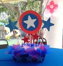 Resultado de imagen para capitan america fiesta tematica