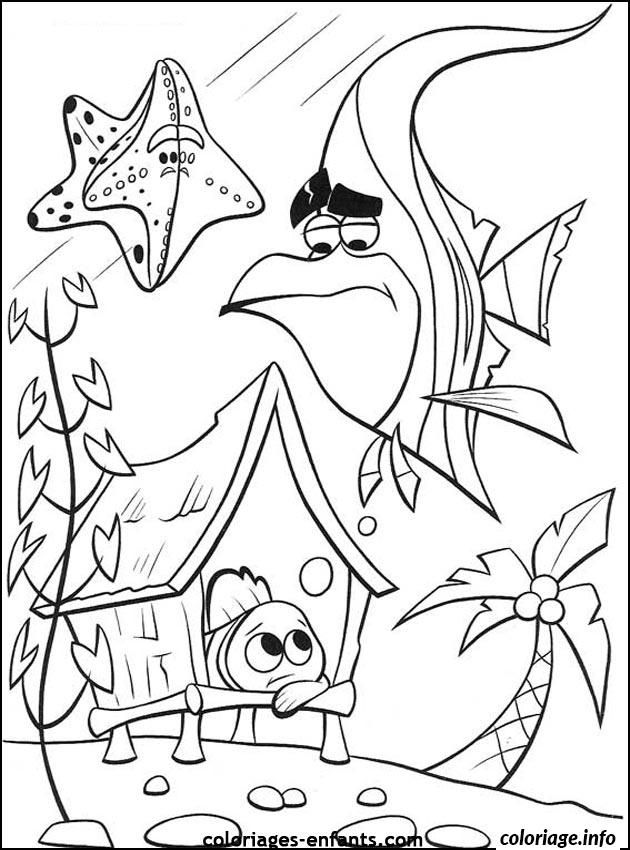 Disney Finding Nemo Coloring Pages For Free