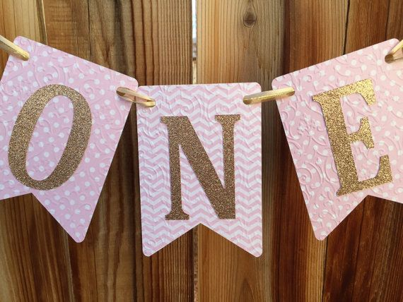 Hey, I found this really awesome Etsy listing at https://www.etsy.com/listing/261595654/high-chair-banner-one-banner-pink-high