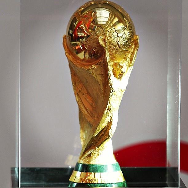 Trofeo de la la Copa del Mundo  #seleccionmexicana #mexico #futbol #soccer #sports