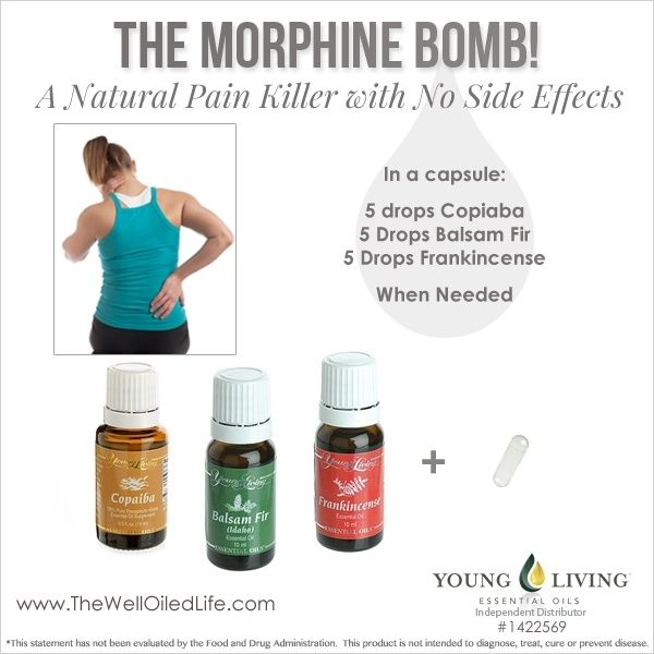Essential Oils for Pain – The Morphine Bomb! by Sadie Williams
