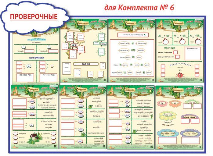 Карточки-памятки: русский язык 1-4 класс, математика 1-4 класс - Русский язык - Начальные классы - Pedsovet.su
