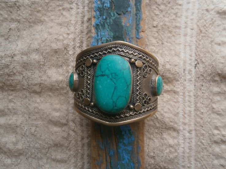 turquoise and silver ,from Swat Valley ,Paquistan