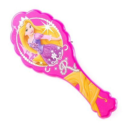 disney princess rapunzel hair brush