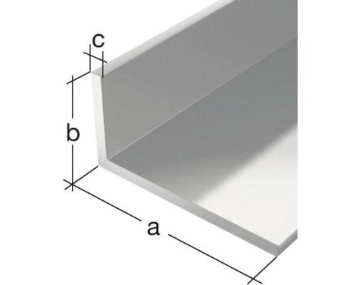 Winkelprofil GAH Alberts Aluminium 40x20 mm, 1 m, ungleichschenklig jetzt kaufen bei HORNBACH.at