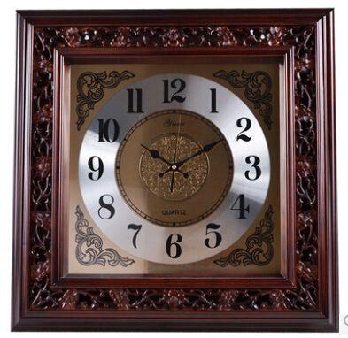 European Modern Design Solid Wood Clock //Price: $515.16 & FREE Shipping //     #hashtag2